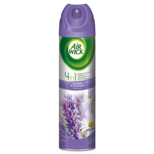 Air Wick 4 in 1 Aerosol Air Freshener, 8 oz Can, Lavender & Chamomile (RAC05762EA)
