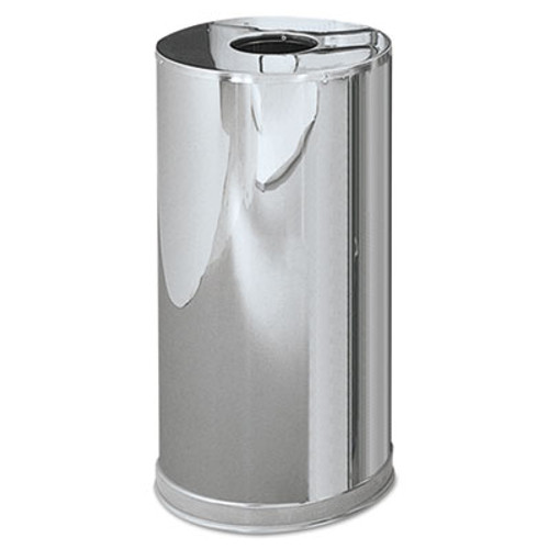 Rubbermaid Atrium Steel Containers,7 7/10 gal, Stainless Steel (RCPCC16MCGL)