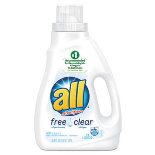All Free Clear HE Liquid Laundry Detergent, 50 oz Bottle (SNP197004900)