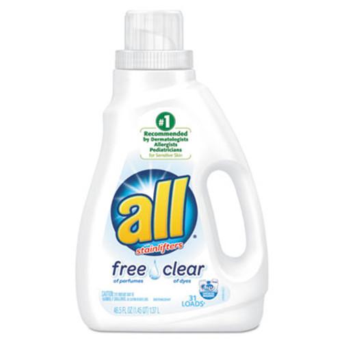 All Free Clear HE Liquid Laundry Detergent, 50 oz Bottle (SNP197004900)