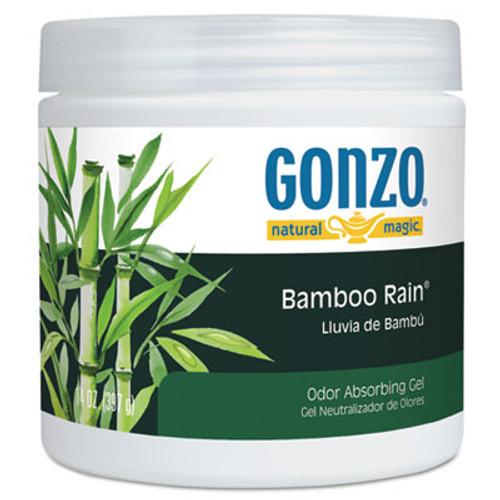 Natural Magic Odor Absorbing Gel, Bamboo Rain, 14 oz Jar, 12/Carton (WMN4121D)