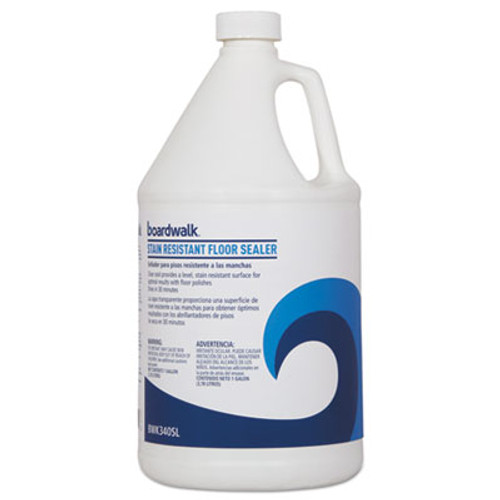 Boardwalk Stain Resistant Floor Sealer, 1 gal Bottle (BWK3404SLEA)