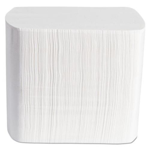 Morcon Paper Dispenser Napkins, Interfolded, 2-Ply, 6 1/2 x 8 1/4, White, 500/Pack, 12 Pk/Ctn (MOR4500VN)