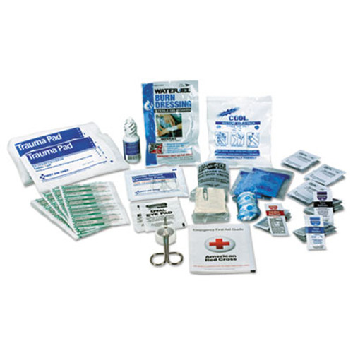 First Aid Only ANSI 2015 Compliant First Aid Kit Refill, Class A, 25 People, 89 Pieces (FAO90583)