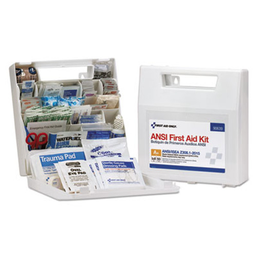 First Aid Only ANSI Class A+ First Aid Kit for 50 People, 183 Pieces (FAO90639)