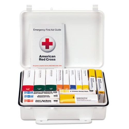 First Aid Only Unitized ANSI Class A Weatherproof First Aid Kit for 25 People, 16 Units (FAO90569)