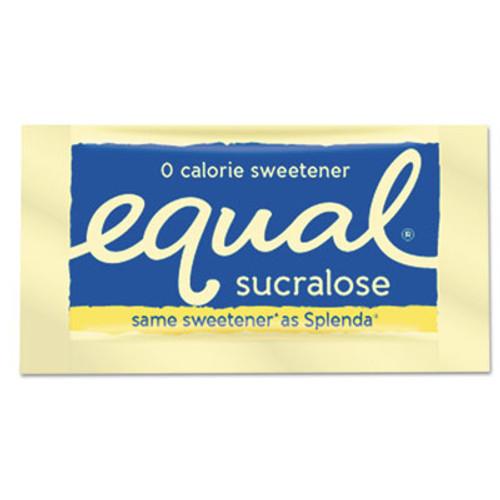 Equal Zero Calorie Sweetener, 0.035 oz Packet, 100/Box, 12 Box/Carton (EQL90077)