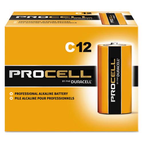 Duracell Procell Alkaline Batteries, C, 12/Box (DURPC1400)