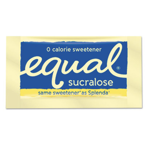 Equal Zero Calorie Sweetener, 0.035 oz Packet, 400/Box (EQL90106)