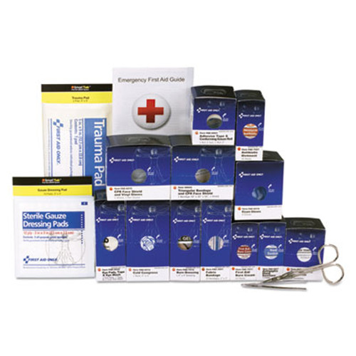 First Aid Only Medium Metal SmartCompliance Refill Pack for 25 People, 94 Pieces (FAO90582)