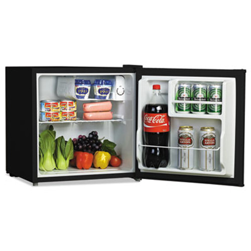 Alera 1.6 Cu. Ft. Refrigerator with Chiller Compartment, Black (ALERF616B)