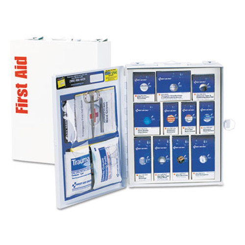 First Aid Only ANSI 2015 SmartCompliance First Aid Station Class A, No Meds,25 People,94 Pieces (FAO90578)