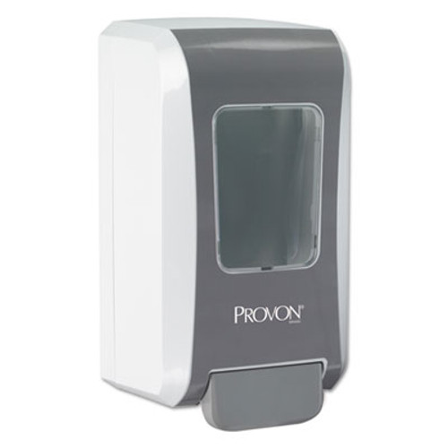 PROVON FMX-20 Soap Dispenser, 2000 mL, 6 1/2 x 4 7/10 x 11 7/10, Gray/White, 6/Carton (GOJ527706)