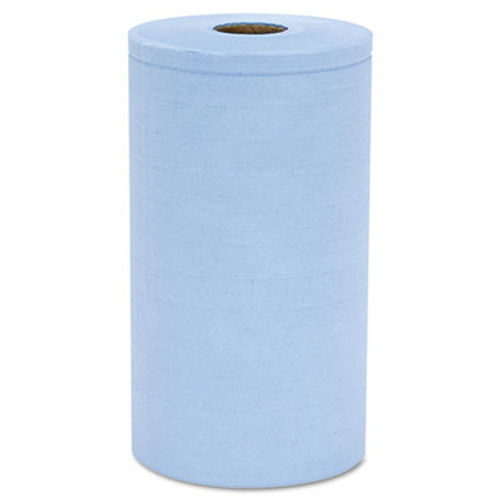 Hospital Specialty Co. Prism Scrim Reinforced Wipers, 4-Ply, 9 3/4 x 275ft Roll, Blue, 6 Rolls/Carton (HOSC2375BH)