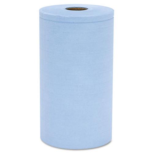 HOSPECO Prism Scrim Reinforced Wipers, 4-Ply, 9 3/4 x 275ft Roll, Blue, 6 Rolls/Carton (HOSC2375BH)
