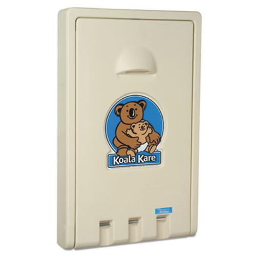 Koala Kare Standard Vertical Baby Changing Station, Cream (KKPKB10100)