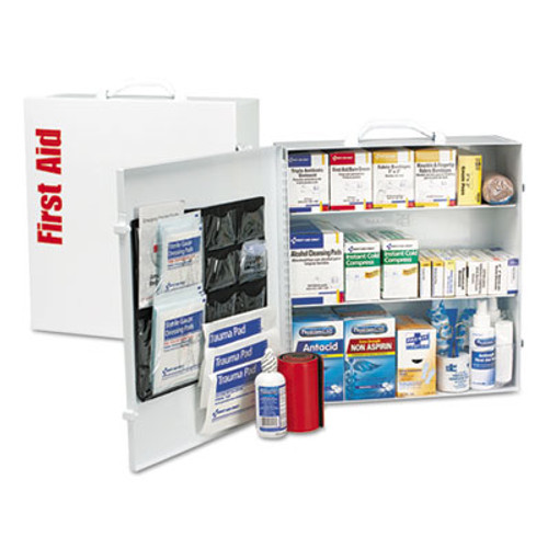 First Aid Only ANSI 2015 Class A+ Type Iⅈ Industrial First Aid Kit 100 People, 676 Pieces (FAO90575)