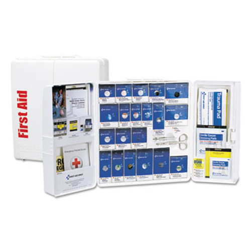 First Aid Only ANSI 2015 SmartCompliance First Aid Station Class A+, 50 People, 241 Pieces (FAO90608)