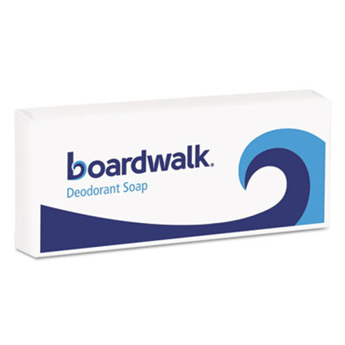 Boardwalk Face and Body Soap, Flow Wrapped, Floral Fragrance, # 1 1/2 Bar, 500/Carton (BWKNO15SOAP)