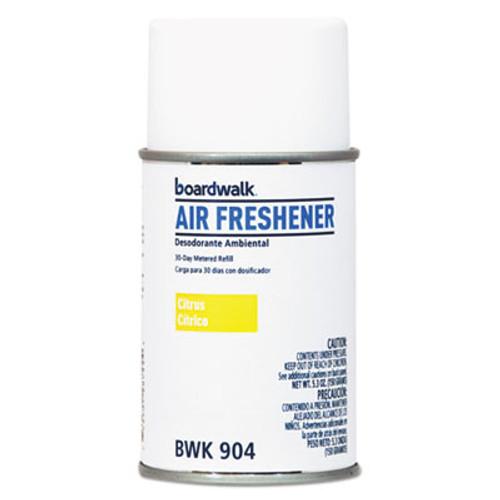 Boardwalk Metered Air Freshener Refill, Citrus Sunrise, 5.3 oz Aerosol, 12/Carton (BWK904)