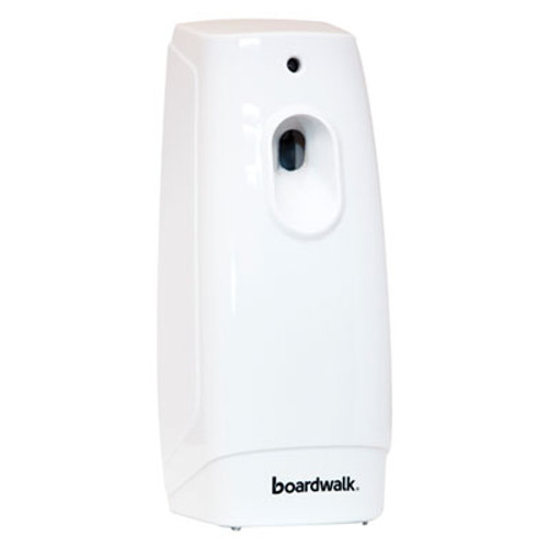 Boardwalk Classic Metered Air Freshener Dispenser, 4w x 3d x 9 1/2h, White (BWK908)