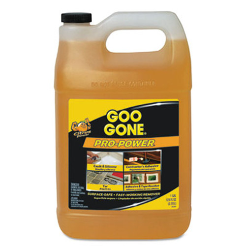 Goo Gone Pro-Power Cleaner, Citrus Scent, 1 gal Bottle, 4/Carton (WMN2085CT)