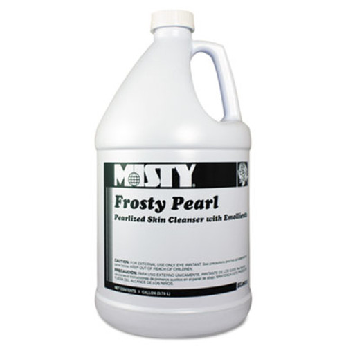 Misty Frosty Pearl Soap Moisturizer, Frosty Pearl, Bouquet Scent, 1 Gal Bottle (AMR1038793)