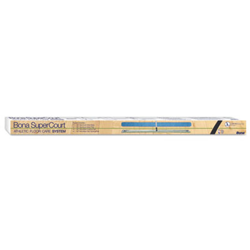 "Bona SuperCourt Athletic Floor Care System, 60""Microfiber Head, 66""Handle, Alum/Blue (BNAWM710013471)"