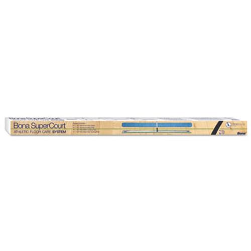 "Bona SuperCourt Athletic Floor Care System, 60""Microfiber Head, 66""Handle, Alum/Blue (BNAWM710013471)"