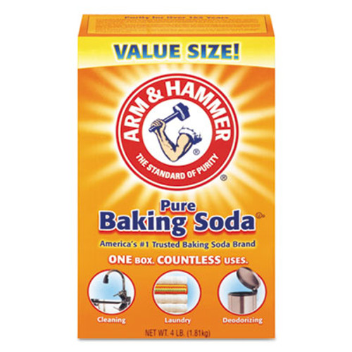 Arm & Hammer Baking Soda, 64 oz Box, 6/Carton (CDC3320001170)
