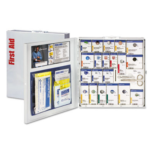 First Aid Only ANSI 2015 SmartCompliance First Aid Station f/50 People, No Medication, 202Piece (FAO746004)