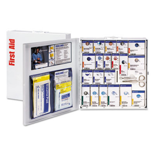 First Aid Only ANSI 2015 SmartCompliance Food Service Kit, w/o Medication, 50 People, 260 Piece (FAO746006)