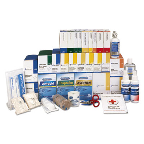 First Aid Only 4 Shelf ANSI Class B+ Refill with Medications, 1427 Pieces (FAO90625)