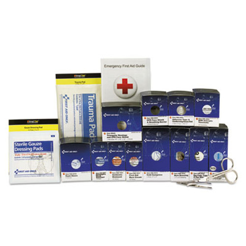 First Aid Only Medium Metal SmartCompliance Food Service Refill Pack, 94 Pieces (FAO90692)