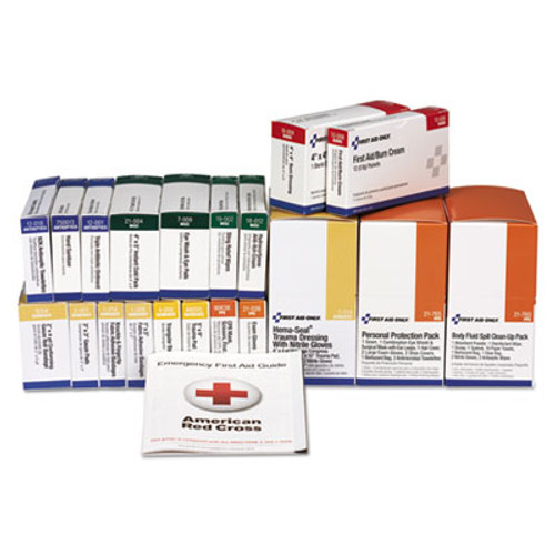 First Aid Only 36 Unit ANSI Class A+ with BBP Refill, 36 Pieces (FAO90783)