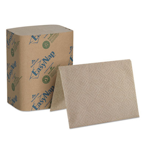 "Dixie Interfold Napkin Refills 2-Ply, 6 1/2"" x 9 7/8"", Brown, 6000/Carton (GPC32019)"