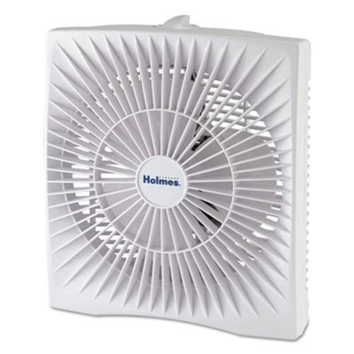 "Holmes 10"" Personal Size Box Fan, Plastic, White (HLSHABF120WN)"