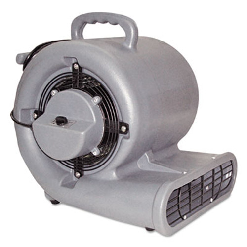 Mercury Floor Machines Air Mover, 3-Speed, 1/2hp, 1150rpm, 1500cfm (MFM1150)
