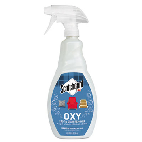 Scotchgard OXY Carpet Cleaner & Fabric Spot & Stain Remover, 26oz Spray Bottle (MMM1026C)