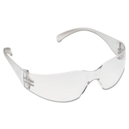 3M Virtua Protective Eyewear, Clear Frame/Clear Lens, Hard-Coat (MMM1132600002EA)