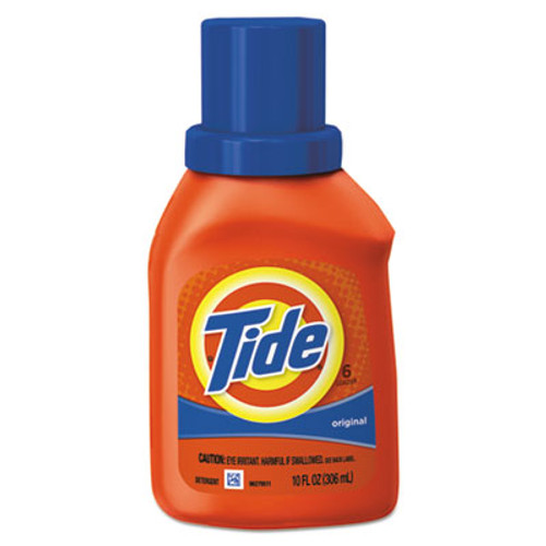 Tide Ultra Liquid Laundry Detergent, Original Scent, 10 oz Bottle, 12/Carton (PGC00471)