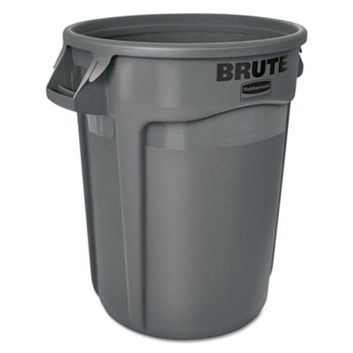 Rubbermaid Brute Round Containers, 32 gallon, Black (RCP1867531EA)