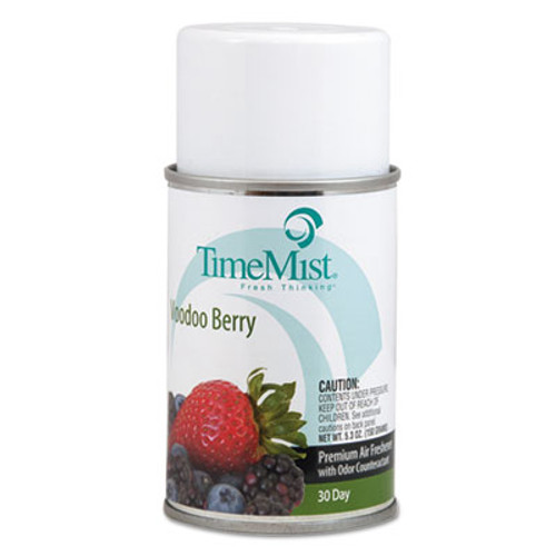 TimeMist Metered Aerosol Fragrance Dispenser Refills, Voodoo Berry, 5.3 oz, 12/Carton (TMS1042727)