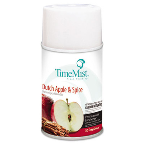 TimeMist Fragrance Dispenser Refills, Dutch Apple & Spice, 6.6 oz, 12/Carton (TMS1042818)