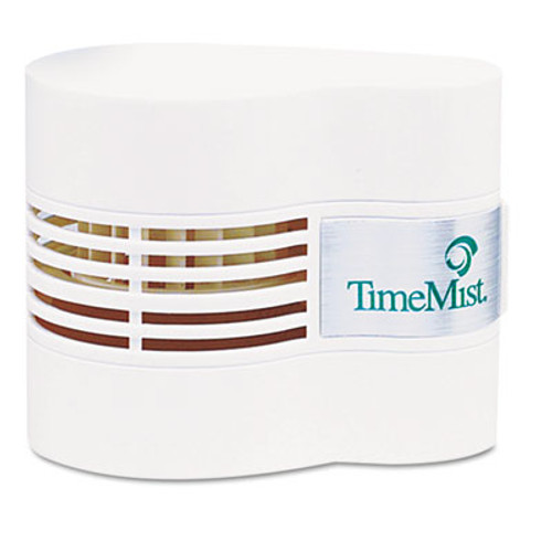 TimeMist Continuous Fan Fragrance Dispenser, 4 1/2 x 3 x 3 3/4, White (TMS1044385)
