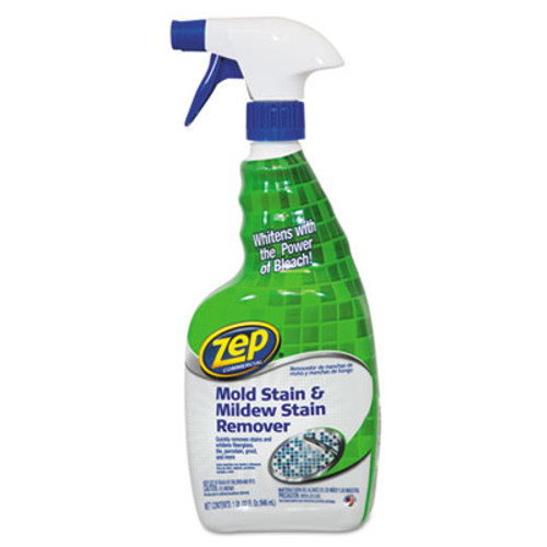 Zep Commercial Mold Stain and Mildew Stain Remover, 32 oz Spray Bottle (ZPE1041725)