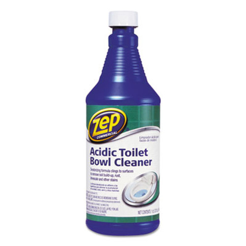 Zep Commercial Acidic Toilet Bowl Cleaner, 32 oz Bottle (ZPE1046423)