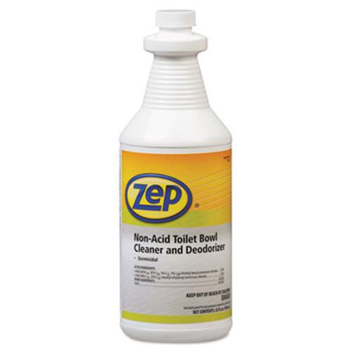 Zep Professional Toilet Bowl Cleaner, Non-Acid, qt, Bottle (ZPP1041410)