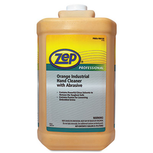 Zep Professional Industrial Hand Cleaner, Orange, 1gal Bottle (ZPP1045070)
