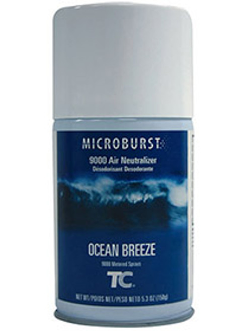 Rubbermaid Microburst 9000 Refills (Case of 4) - Ocean Breeze
